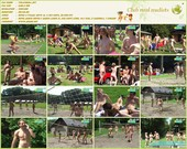 Volleyball - naturists movie