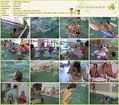 Croweded Pool - naturists movie