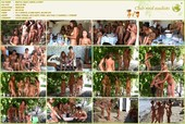 Rocky Coast Party 4 - naturists movie