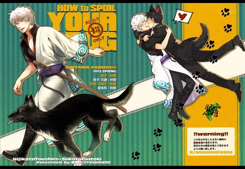 3745HOUSE MIkami Takeru Gintama How To Spoil Your Dog English Hentai Manga Beastiality Doujinshi