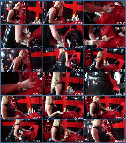 Helpless Slave Gets Anal Therapy 2 Femdom