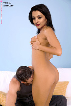 Trisha pussy is licked by her boyfriend