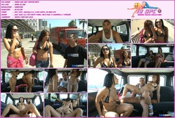Lara and Sara know that we are a little bastards - porn in minibus